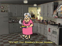 Not Your Grandma's Kitchen Anymore