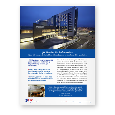 Case Study: JW Marriot Mall of America