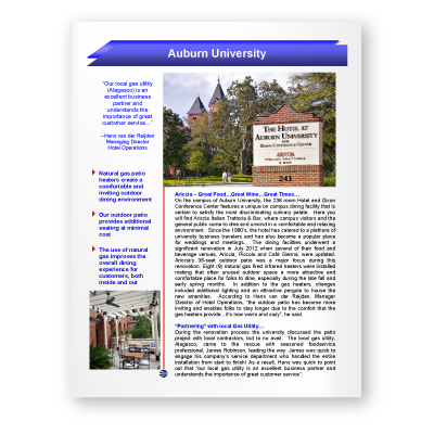 Case Study: Auburn University