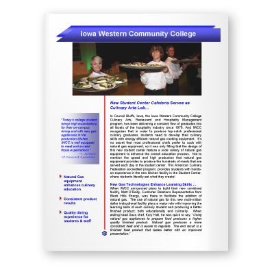 Case Study: Iowa Western Community College