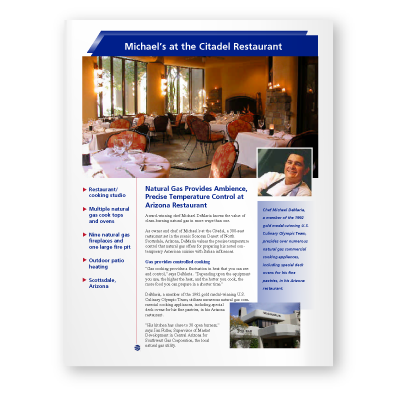 Case Study: Michael's at the Citadel Restaurant