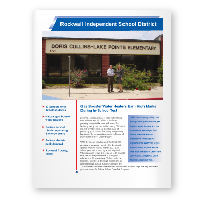 Case Study: Rockwall Independent School District