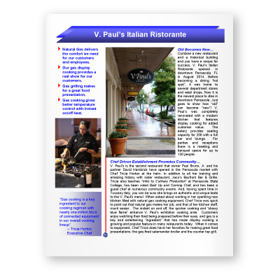 Case Study: V. Paul's Italian Ristorante