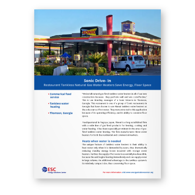 Case Study: Sonic Drive-In