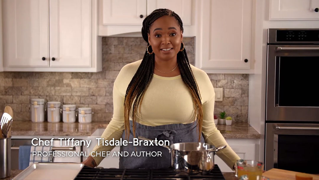 Chef Tiffany Tisdale-Braxton – Meet The Chef – Cooking with Gas